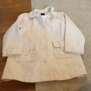Off white gap pea coat EUC and size 5